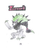 Alt. Color Zoroark by uhnevermind