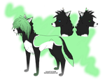New OC! Kage by BrixnRainbows
