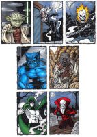 Sketch Card Commissions A by tonyperna