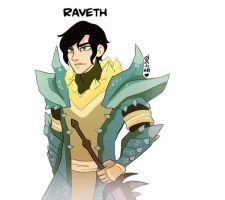 Raveth - Monster Hunter by macawnivore