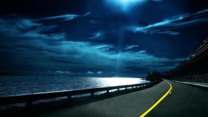 Night Highway for windows 7 by FacuxStone