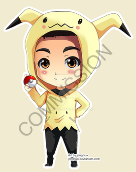 commission - pokemon trainer avatar by yinghuo