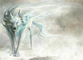 winter wolf by animecrazy1992