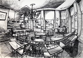 2Sketck 09 (Cafe Central's 180) by docthedog