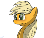 Apple Jack embarassed by Cloufy