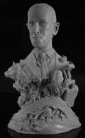 H.P. Lovecraft by MatBrouillard
