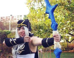 League of Legends - Ashe cosplay 01 by CZSKLoLCosplayers