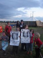At the camp for climate action by Kokoindigomoon