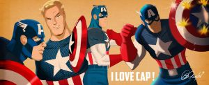 I Love Cap by Des Taylor by DESPOP