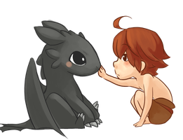 HTTYD- First Pet by Sunofureku
