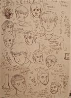 Giant Sketch Page of Doom by anna-becca7