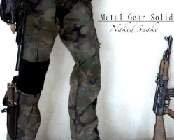 Metal Gear Solid 3 - Subsitence Custom Toy by SomethingGerman