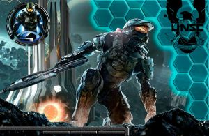 Halo 4 Custom Wallpaper 1 by drayh1985