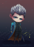Chibi Vergil by MoonlightTheWolf
