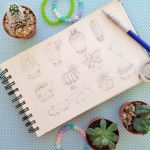 Cute plant scketches by Alba-R-Luque