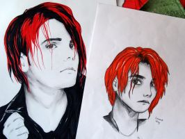 Gerard Way by loolule