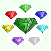 Chaos Emeralds by TokeiTime