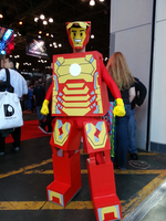 Lego Iron Man by StealthNinja5
