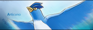 Articuno flying sig by KingS1ngh