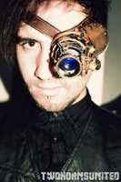 The Steampunk LED ocular apparatus by TwoHornsUnited
