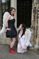 Lesbian Angels stock 9 by Random-Acts-Stock