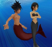 Vanitas x Xion - Under The Sea by Kairime
