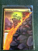 Exploding Borders altered  - SOLD by Rinji-chan