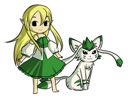 AT: Lime-Neko 2 by Icy-Snowflakes
