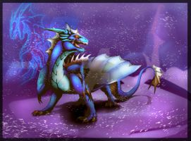 Dragao de Azul by Keawolf