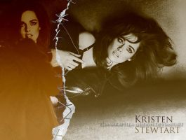 Kristen Stewart for 'W' by YlianaKapella-Neidon