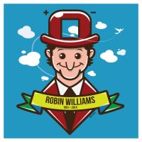Robin Williams Vector by funky23