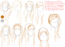 Hair Styles - long and straight by Mariana-S
