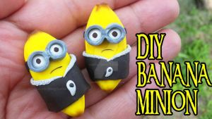 BANANA MINIONS DIY by NerdEcrafter