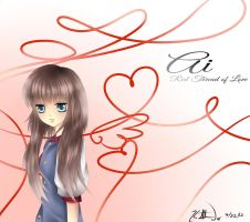 Red Thread of Love by Lovable-Yukiko