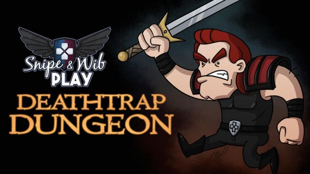 Deathtrap Dungeon Title Card by wibblethefish
