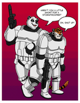 Burt and Kevin as Stormtroopers by BennytheBeast