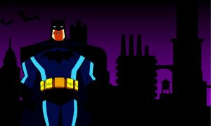 Batman Tnba Gotham City by bat123spider