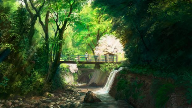 Spring Bridge by you629