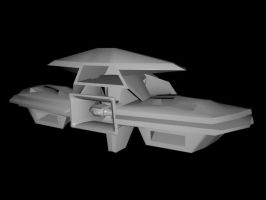 Space Station Low Poly Beta by Etrocal