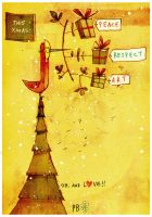 Yellow.Xmas by betteo