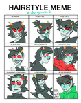 Terezi Hairstyle Meme by dongoverlord