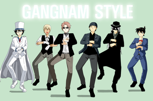 gangnam style by moonso