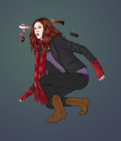 WIP - Amy and the Pandorica by eclecticmuse