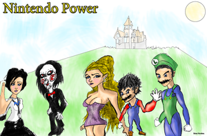 Nintendo Power Cover by Bicabo