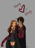 Harry Potter_Harry and Ginny by jbsdesigns