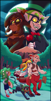 .the Dark Woods Circus. by faster-by-choice
