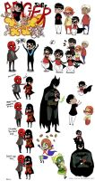 Doodles - Batman 4 by yolin