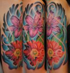 Flowers Color 2 by gettattoo