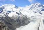 Monte Rosa and the Gornergrat Glacier by WyrdWanderer