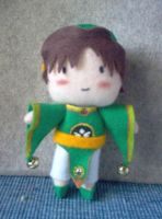 Plushie of Ly Syaoran by CuteGio